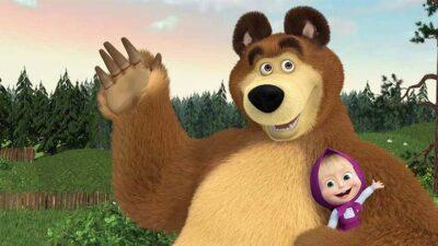Герои мультсериала Маша и Медведь